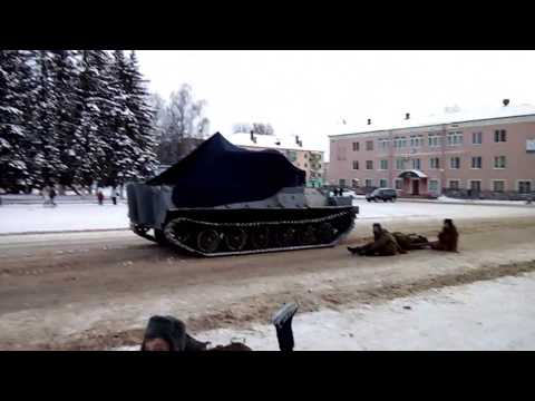 36 - Реконструкция освобождения г. Нелидово (24.01.2018)