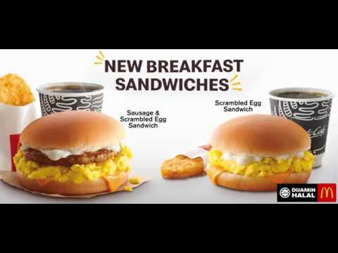 Mcdonald S Malaysia Introduces New Scrambled Egg Sandwiches To Its