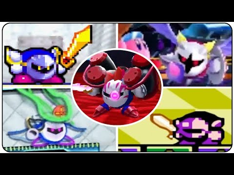 Evolution of Meta Knight Battles in Kirby Games