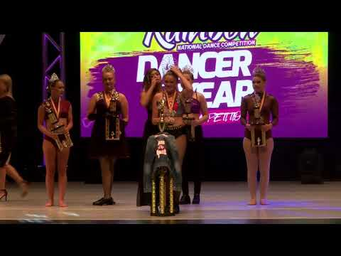 2017 Rainbow Panama City Nationals //Dancer of the Year - Awards [Panama City, FL]
