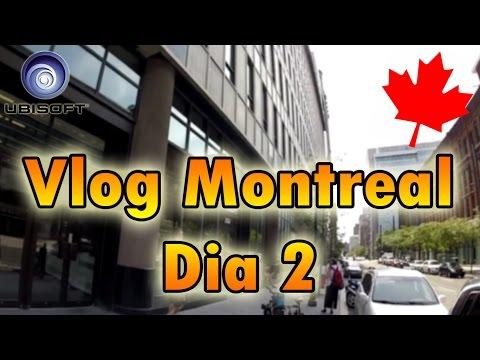 "Video Vlog | Viaje a Ubisoft montreal dia 2 "" Studios y fiesta """