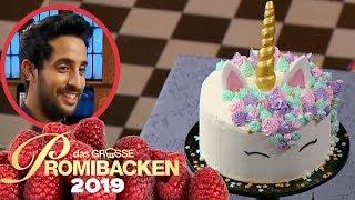Bunte Einhorn Torte: Bei Sami wird´s magisch 1/2 | Aufgabe | Das große Promibacken 2019 | SAT.1 TV