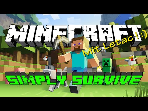 Minecraft Simply Survive Hd Let S Play Minecraft Youtube