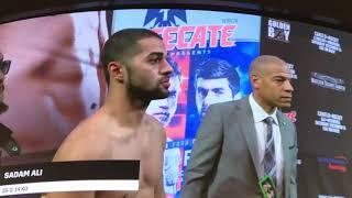 Sadam Ali vs Mauricio Herrera WEIGH IN