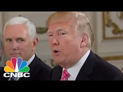 President Donald Trump: Hopefully Will Shrink Trade Deficit With Japan   CNBC