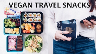 VEGAN TRAVEL SNACK IDEAS
