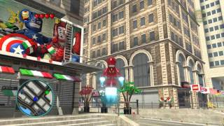 LEGO Marvel Super Heroes The Video Game - Iron Man free roam