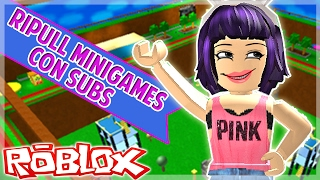 ROBLOX - Ripull Minigames- I hate snowmen! - C/Subscribers