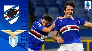 Sampdoria 3-0 Lazio | Show blucerchiato, la squadra di Ranieri domina | Serie A TIM