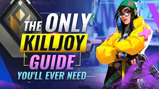 The ONLY Killjoy Guİde You'll EVER NEED - Valorant Act 2