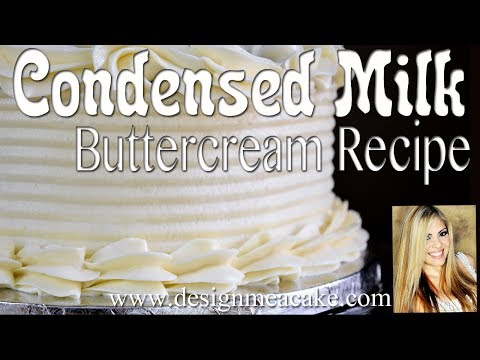 Easy & Delicious Condensed Milk Buttercream Recipe