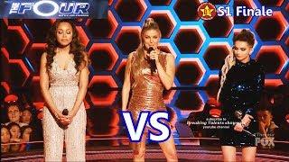 Zhavia vs Evvie Mckinney (Zhavia sings Man Down)  Evvie Sing...