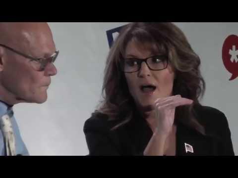 Sarah  Palin and James Carville Q&A @ Politicon 2016