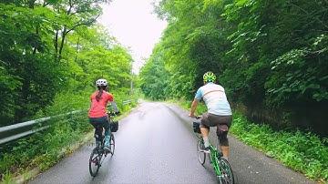 미니벨로 다혼으로 떠나는 강원도 태백 두문동재, 이끼폭포 라이딩 (Taebaek bicycle riding Gangwon-do, in Korea)
