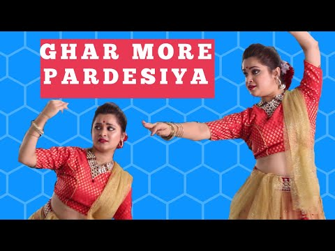 Ghar More Pardesiya| Kalank  | Bolly-kathak Dance Choreography
