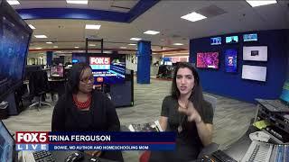 FOX 5 LIVE (2/2): Celebrating Black History Month - author and homeschooling mom Trina Ferguson