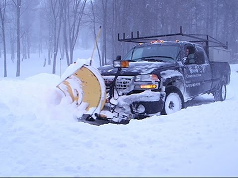 Raw: Plenty to Plow in Andover, Mass.