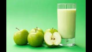 Cara Membuat Jus Apel Hijau Untuk Diet Sehat - How To Make Apple Juice