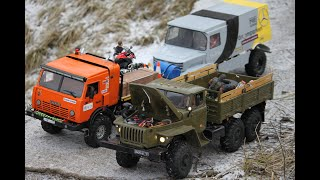 RC Expedition. Offroad. RC  КамАЗ-4911 «Extreme», Урал 4320 6х6, Toyota Land Cruiser и другие