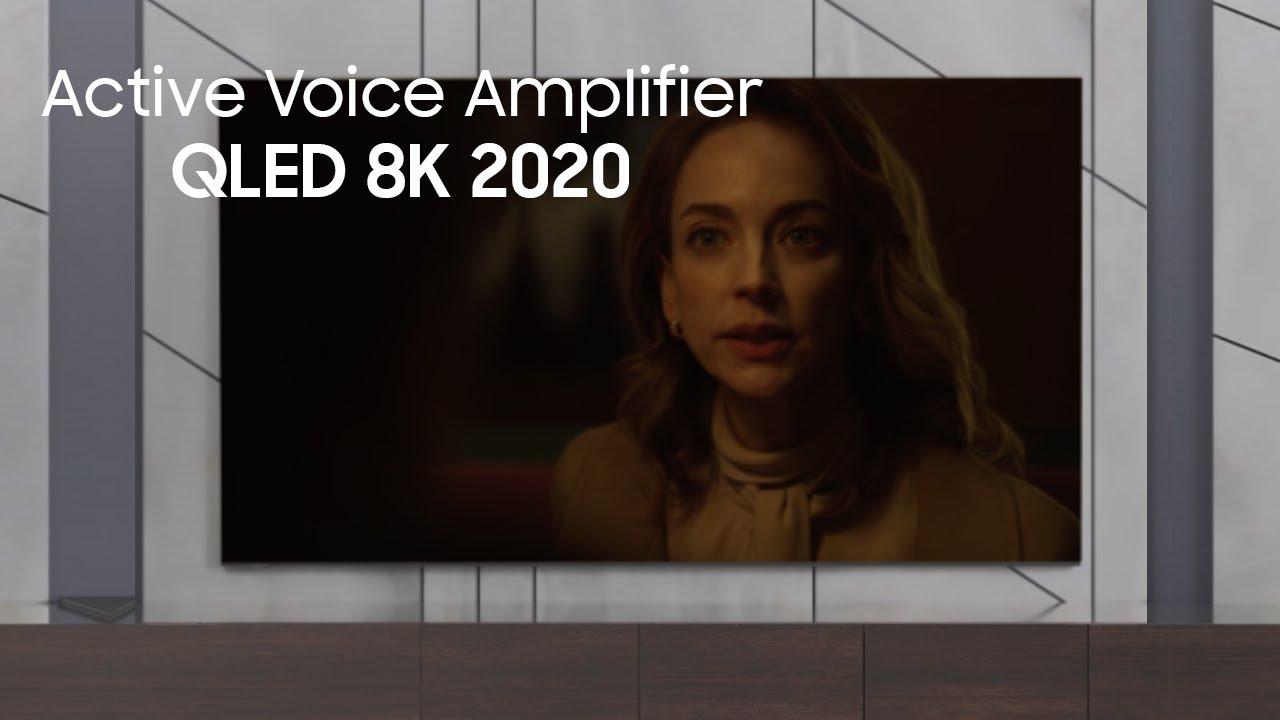 QLED 8K 2020 | AVA - Active Voice Amplifier