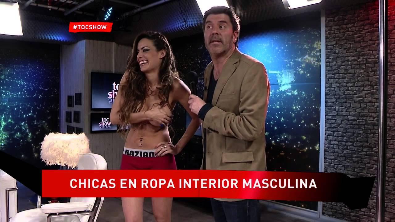 Chicas en ropa interior masculina en tocshow doovi for Ropa interior masculina