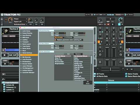 How to Setup FX Units and Assign Effects in TRAKTOR