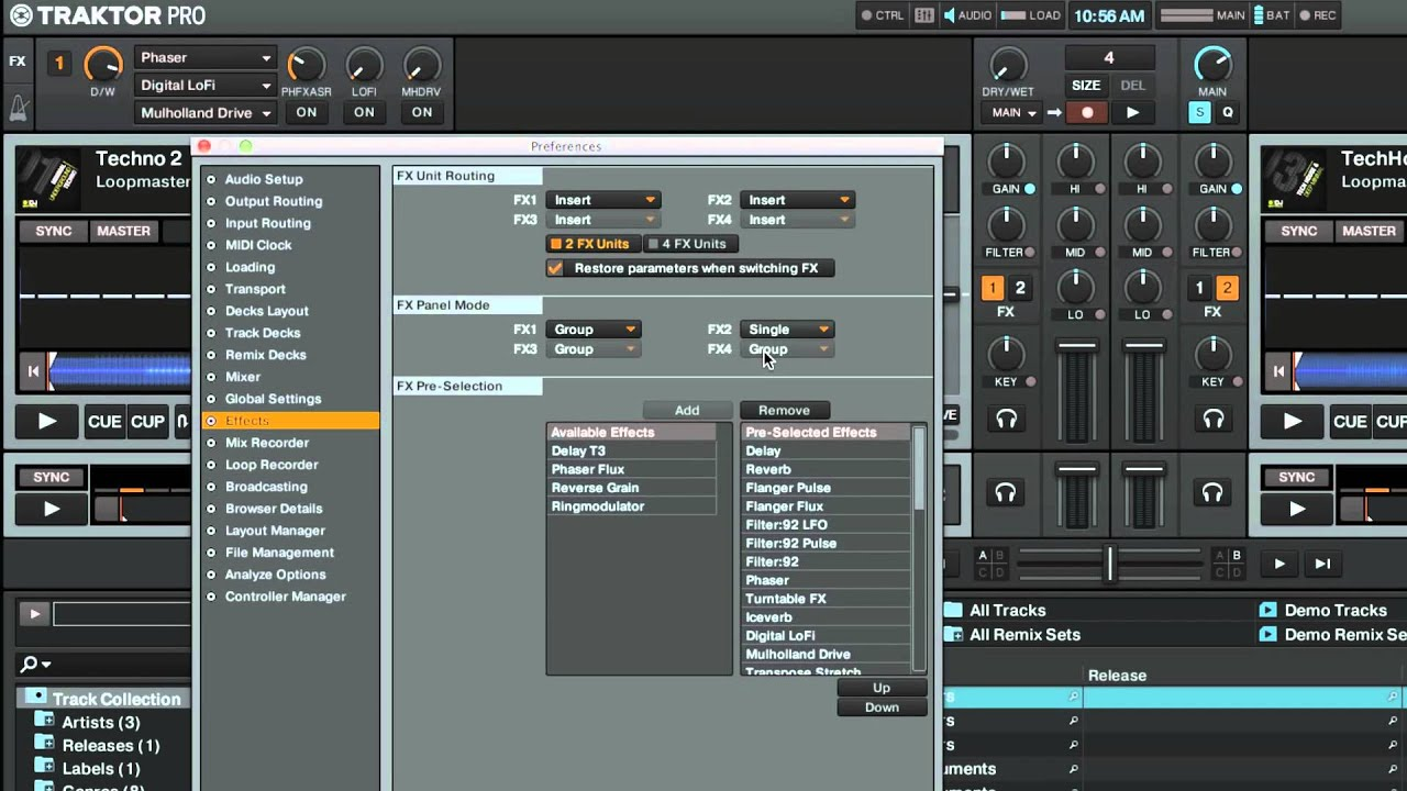 How to Set Up FX Units and Assign Effects in TRAKTOR [VIDEO