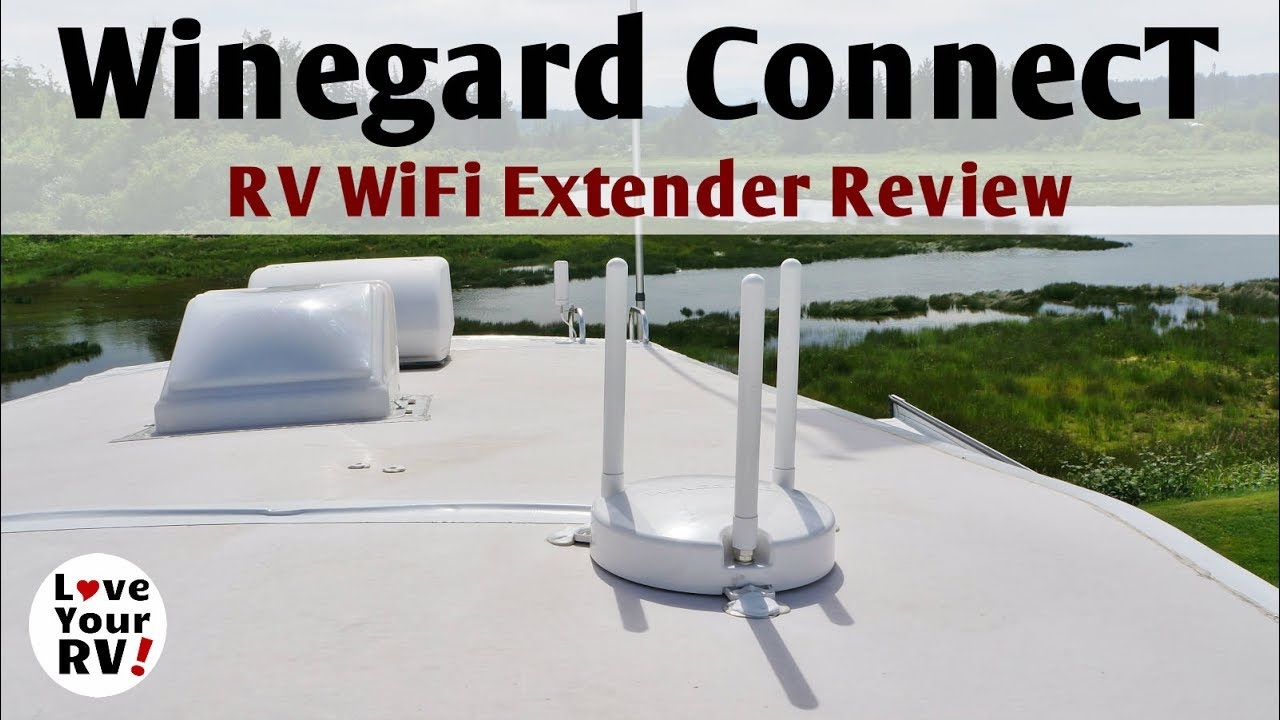 Winegard ConnecT RV WiFi Extender Review - YouTube