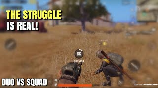 Getting Knocked Down 3 Times | PUBG Mobile | Duo vs Squad Ft. Yanrique Wright!