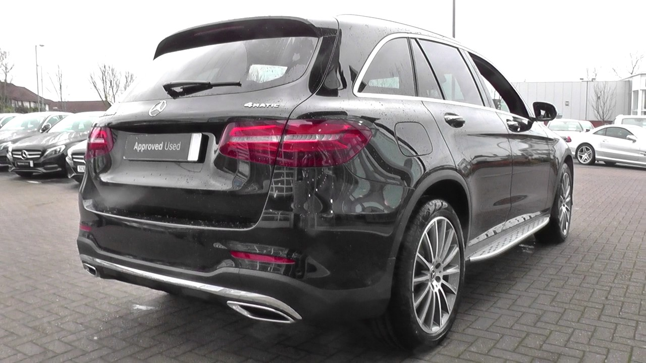 mercedes benz glc glc 250d 4matic amg line prem plus 5dr 9g tronic u28503 youtube. Black Bedroom Furniture Sets. Home Design Ideas