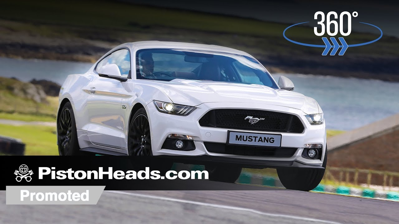 Promoted take a 360 degree ride in a ford mustang gt