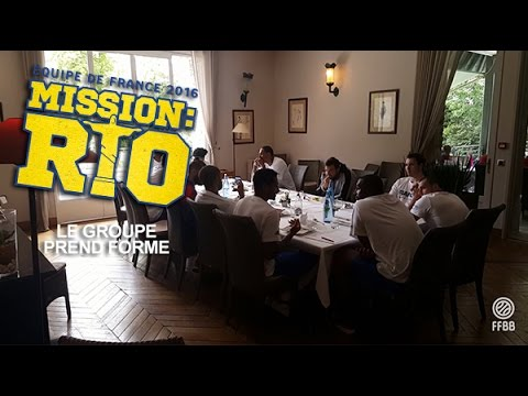 #MissionRio - 14 juin - Le groupe France prend forme