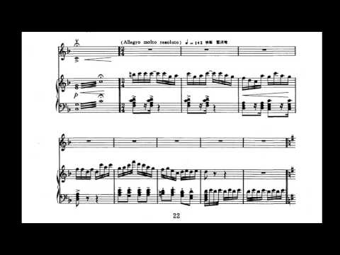 Chen Gang 陈钢/He Zhanhao 何占豪 - Butterfly Lovers' Violin Concerto 梁祝小提琴协奏曲 (Audio + Score)