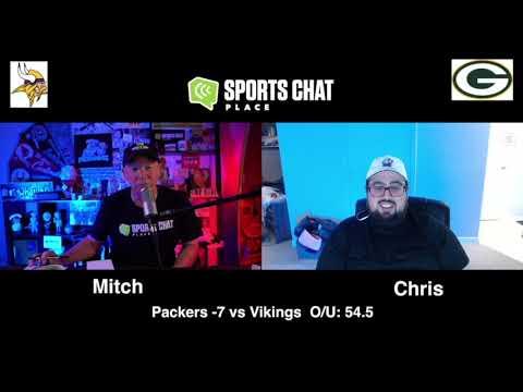 Minnesota Vikings at Green Bay Packers Saints Sunday 11/1/20 NFL Picks & Predictions Week 8