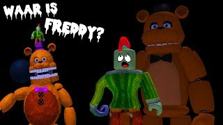 FREDDY MAY NOT SUITS ME! (Roblox Obby FNAF)