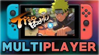 NARUTO SHIPPUDEN: Ultimate Ninja STORM 3 Full Burst | Multiplayer Gameplay  | Nintendo Switch