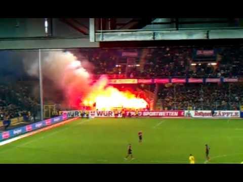 Dortmunder Pyrotechnik in Freiburg