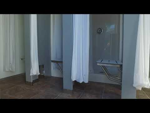 8 Station Portable Shower Trailer For Rent or Sale | Sierra Series