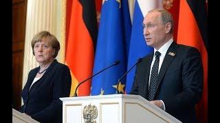Пресс-конференция Владимира Путина и Ангелы Меркель. Полное видео
