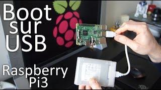Raspberry Pi3: boot sur USB (clé, disque SSD) SANS carte SD