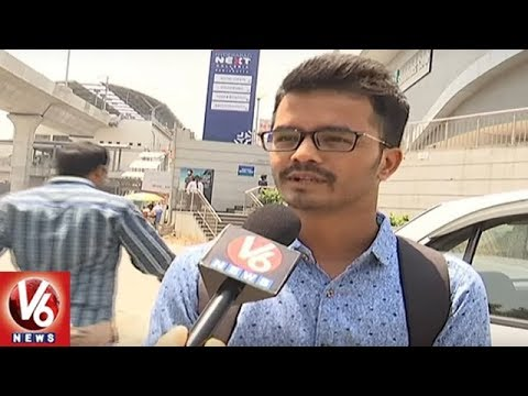 Special Report On Hyderabad Metro Malls At Panjagutta And Ameerpet | V6 News