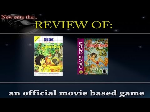 Movies to Video Games Review - Disney's the Jungle Book (SMS/GG)