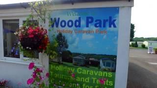 Wood Park Caravan Park, Tenby, Pembrokeshire.
