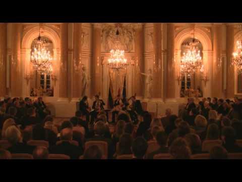 Baltic Guitar Quartet plays Johannes Brahms - Hungarian dance No.5