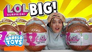 LOL Big Surprise , Juguetes Sorpresa Gigantes ! 50 Sorpresas en cada L.O.L  Surprise con Abrelo Toys