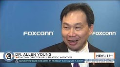 Foxconn announces plans to buy BMO Harris Bank on Capital Square