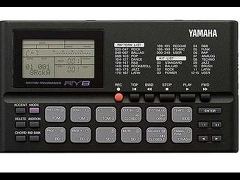 Yamaha RY8 drum machine review & RY30 info