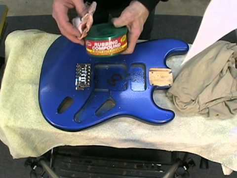 Adding a Metal Flake Finish to a Strat (Part 2)