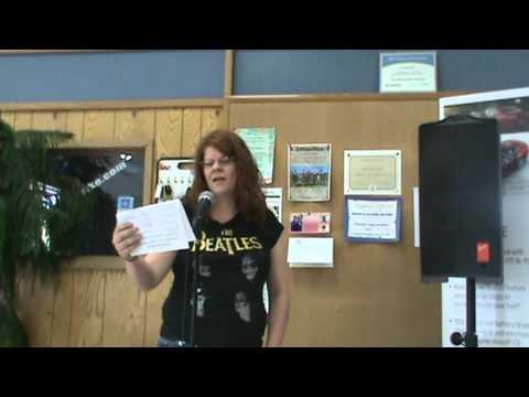 Connie McGee - Booth & LaDuke Karaoke Contest.MPG