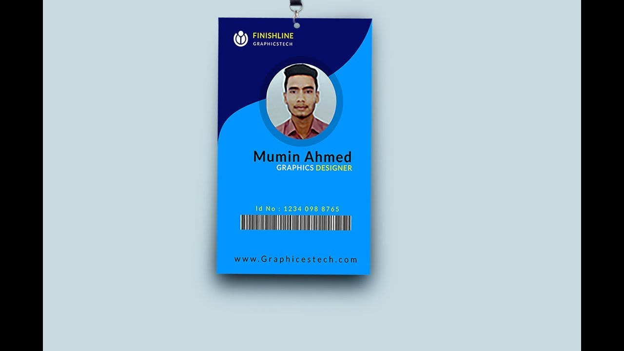 Corporate professional id card design for your business tutorial corporate professional id card design for your business tutorial photoshop cc 2017 colourmoves